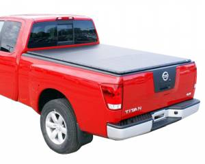 "Downey - Downey SST 206118 | 5'5"" Crew Cab Short Bed Slant Side Tonneau Bed Cover For Nissan Titan 04-16"