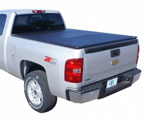 Downey - Downey SST 206131 | 8' Long Bed Slant Side Tonneau Bed Cover For Chevrolet Silverado / GMC Sierra 07-13