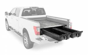 Decked Truck Bed Storage System (6.7ft Bed) | DCKDN4 | 2016+ Nissan Titan | Dale's Super Store