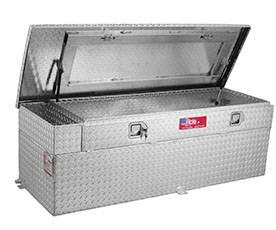 RDS Aluminum - RDS Aluminum 51 Gallon Combo Liquid Transfer Tank | RDS72746 | Universal Fitment
