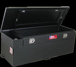 RDS Aluminum - RDS Aluminum 60 Gallon Rectangular Liquid Transfer Tank-Black | RDS72743PC | Universal Fitment