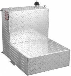 RDS Aluminum - RDS Aluminum 95 Gallon L-Shaped Transfer Liquid Tank | RDS70388 | Universal Fitment
