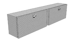 RDS Aluminum - RDS Aluminum Topside Tool Box | RDS70636 | Universal Fitment