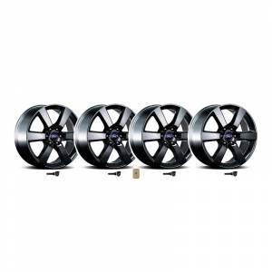 Ford Racing - Ford Racing 20x8.5 Six Spoke Wheel Set w/ TPMS Kit (Matte Black) | FRM-1007K-P20XB | 2015-2019 Ford F150