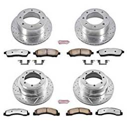 PowerStop - Power Stop Z36 Truck & Tow Complete Brake Kit | PWR-K1887-36 | 1999 Ford HD
