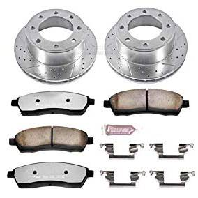 PowerStop - Power Stop Z36 Truck & Tow Rear Brake Kit | PWR-K1890-36 | 1999-2004 Ford HD