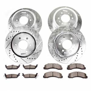 PowerStop - Power Stop Complete Z23 Brake Kit | PWR-K2895 | 2007-2010 Ford HD