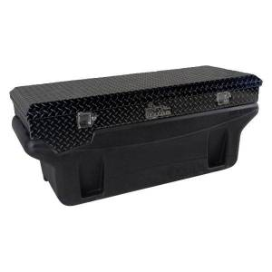 Titan Fuel Tanks - Titan Fuel Tanks Compact Locking Toolbox (Black) | 9901180 | Multi-Vehicle Fitment