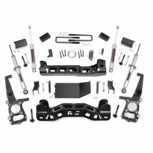 Rough Country 4 In Suspension Lift Kit for Ford 2009-2010 F-150 4WD | 598S | Dale's Super Store