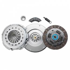 South Bend Clutch - South Bend Organic/Feramic Clutch Kit w/ Flywheel | SBC1944-6OFEK | 1999-2003 Ford Powerstroke 7.3L