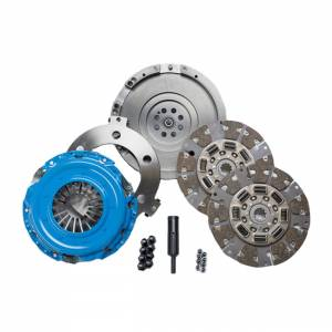 South Bend Clutch - South Bend Organic Clutch Assembly Conversion Kit w/ Flywheel | SDDMAXZ-ORG | Duramax LBZ Engine to ZF6 Trans