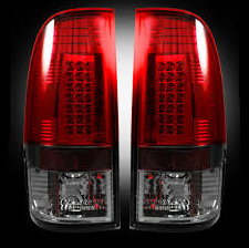 RECON - RECON 264176RBK | LED Tail Lights - DARK RED SMOKED (2008-2016 Ford Superduty F250 - 650)