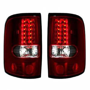 RECON - RECON 264178RD | LED Tail Lights - RED (2004-2008 Ford F-150)