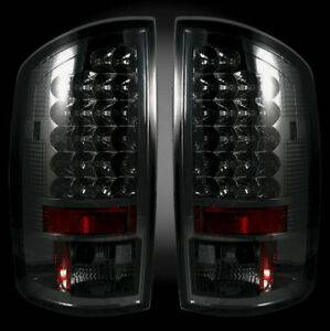 RECON - RECON 264179BK | LED Tail Lights - SMOKED (2007-2008 Dodge Ram 1500 & 2007-2009 Ram 2500/3500)
