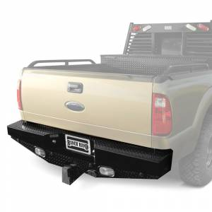 Ranch Hand - Ranch Hand Sport Series Rear Bumper w/ lights and sensors | RNHSBF081BLSL | 2008-2013 Ford SuperDuty