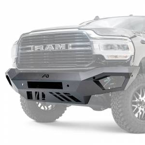Fab Fours  - Fab Fours Vengeance Front Bumper (No Guard - Raw)   DR19-V4451-B   2010-2019 Chevy HD