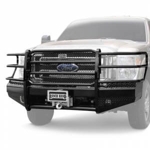 Ranch Hand - Ranch Hand 15K Sport Front Bumper w/ Sensor | RNHFBD105BLRS | 2010-2017 Dodge Ram HD