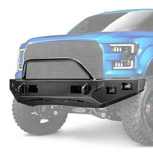 Ranch Hand - Ranch Hand Horizon Bull Nose Front Bumper   RNHHFF15HBMT   2015-2017 Ford F150