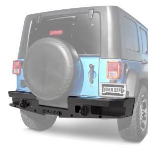 Ranch Hand - Ranch Hand Horizon Spare Tire Carrier | RNHTCJ071BM1 | 2007-2016 Jeep Wrangler JK