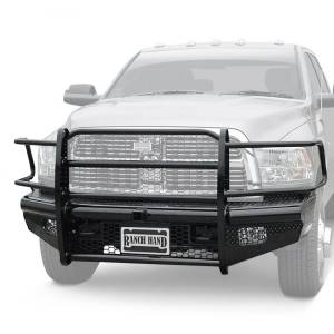 Ranch Hand - Ranch Hand Legend Front Bumper w/ Sensors | RNHFBD101BLRS | 2010-2017 Dodge Ram HD