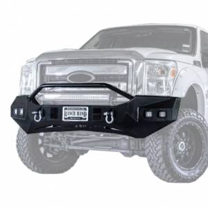 Ranch Hand - Ranch Hand Horizon Bull Nose Front Bumper | RNHHFF18HBMT | 2018+ Ford F150