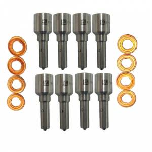 "Dynomite Diesel Products - Dynomite Diesel Products Injector Nozzle Set ""Super Mental"" Custom HP   DDP FD67-SMNZ   2011-2014 Ford Powerstroke 6.7L"