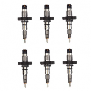 RAE Diesel - Reman Common Rail Fuel Injector Set (6) | RAER986435503-SET | 2003-2004 Dodge Cummins 5.9L