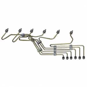 Freedom Injection - VP44 Stock Fuel Injection Line Kit w/ Optional Clamps | 1995-2002 Dodge Cummins 5.9L