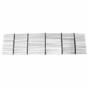 Dale's - C85002A - Dale's Main Upper Polished Aluminum Billet Grille - '1990 GMC Suburban Replacement (Cutting Not Required)