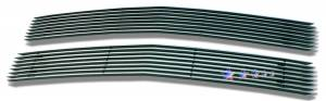 Dale's - C65735A - Dale's Main Upper Polished Aluminum Billet Grille - '94-99 Chevy Tahoe