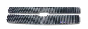 Dale's - C65774V - Dale's Main Upper Polished Aluminum Billet Grille - '07-10 Chevy Silverado 2500, Silverado 3500