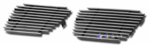Dale's - C66467A - Dale's Tow Hook Polished Aluminum Billet Grille - '07-11 Chevy Tahoe Not For Z71 Model