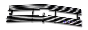 Dale's - C85044A - Dale's Main Upper Polished Aluminum Billet Grille - '98-04 Chevy S-10 Pickup