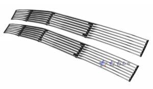Dale's - C85211A - Dale's Main Upper Polished Aluminum Billet Grille - '94-99 Chevy Tahoe