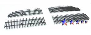 Dale's - Dodge 2007-2011 Nitro (Main|4 Section) Polished Aluminum Vertical Billet Grilles