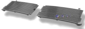 Dale's - Dodge 1997-2004 Dakota (Main|2 Sections) Polished Aluminum Billet Grilles