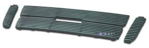 Dale's - F65323A - Dale's Main Upper Polished Aluminum Billet Grille - '01-05 Ford Explorer Sport Trac