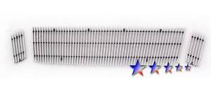 Dale's - F65528V - Dale's Main Upper Polished Aluminum Billet Grille - '07-10 Ford Explorer Sport Trac Not For Adrenalin