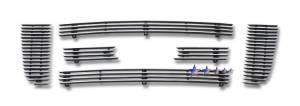 Dale's - F66027A - Dale's Main Upper Polished Aluminum Billet Grille - '06-11 Ford Ranger FX4/XL/XLT
