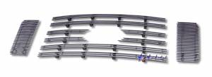 Dale's - F66028A - Dale's Main Upper Polished Aluminum Billet Grille - '08-10 Ford F-250 Super Duty, F-350 Super Duty, F-450 Super Duty, F-550 Super Duty FX4 Only (Will Not Fit Lariat)
