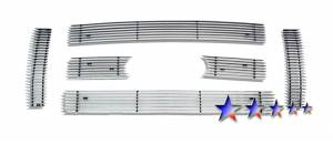 Dale's - F66788A - Dale's Main Upper Polished Aluminum Billet Grille - '09-10 Ford F-150  Lariat & King Ranch