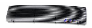 Dale's - F85007A - Dale's Main Upper Polished Aluminum Billet Grille - '92-97 Ford F-250 Super Duty, F-350 Super Duty