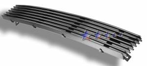 Dale's - F85038A - Dale's Lower Bumper Polished Aluminum Billet Grille - '97-98 Ford F-150 4WD