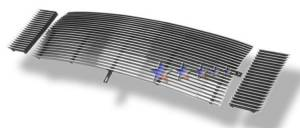 Dale's - F85086A - Dale's Main Upper Polished Aluminum Billet Grille - '99-04 Ford F-250 Super Duty, F-350 Super Duty, F-450 Super Duty, F-550 Super Duty
