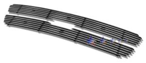 Dale's - F65729A - Dale's Main Upper Polished Aluminum Billet Grille - '97-98 Ford F-250 Light Duty (Will Not Fit Lariat)