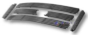 Dale's - F65781A - Dale's Main Upper Polished Aluminum Billet Grille - '05-07 Ford F-250 Super Duty, F-350 Super Duty, F-450 Super Duty, F-550 Super Duty