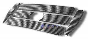 Dale's - F65800A - Dale's Main Upper Polished Aluminum Billet Grille - '04-08 Ford F-650, F-750