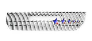Dale's - GMC 2004-2011 Canyon (Main) Polished Aluminum Vertical Billet Grille