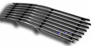 Dale's - G85046A - Dale's Main Upper Polished Aluminum Billet Grille - '98-03 GMC S-15 Pickup Replacement(Cutting Required)