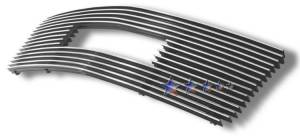 Dale's - G65724A - Dale's Main Upper Polished Aluminum Billet Grille - '95-05 GMC Safari Van Bolt Over/Overlay/Bolton (Drilling Required)